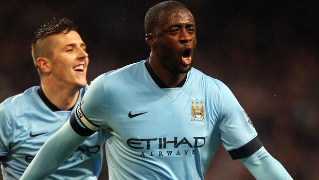Man City Yaya Toure