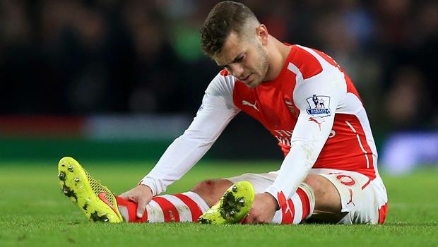 Tiền vệ Arsenal Jack Wilshere