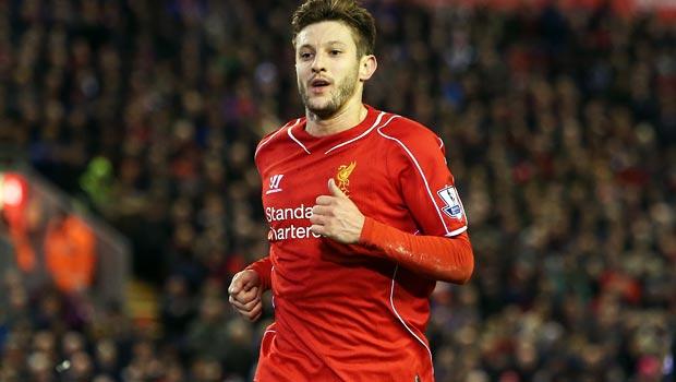 Tiền vệ Liverpool Adam Lallana