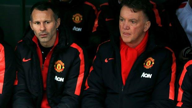 Man United Ryan Giggs  và Louis van Gaal
