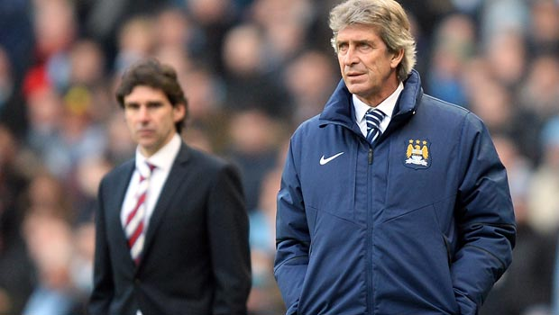 Manuel Pellegrini Man City