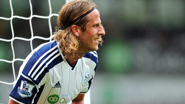 West Brom Jonas Olsson