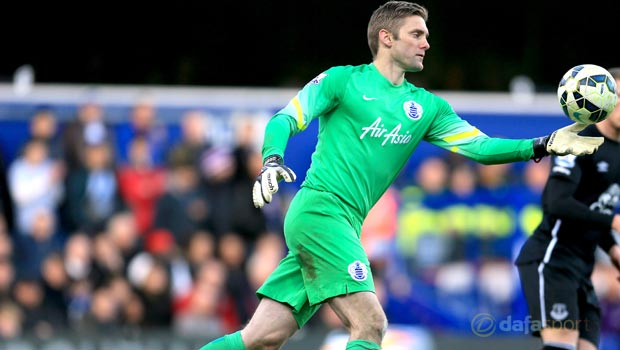 QPR-goalkeeper-Rob-Green-England