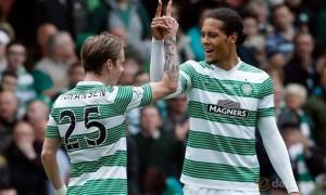 Celtic-Virgil-Van-Dijk-and-Stefan-Johansen