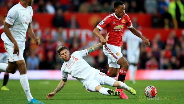 Man-Utd-Anthony-Martial-and-Liverpool-Alberto-Moreno