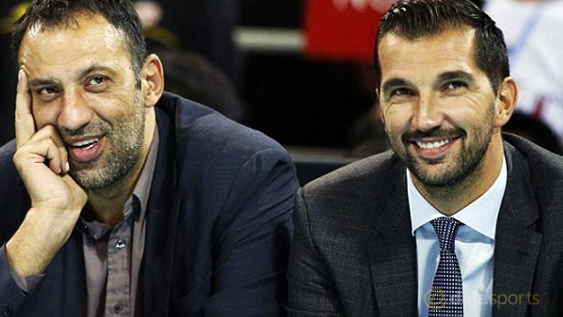 Peja-Stojakovic-and-Vlade-Divac-Sacramento-Kings-NBA