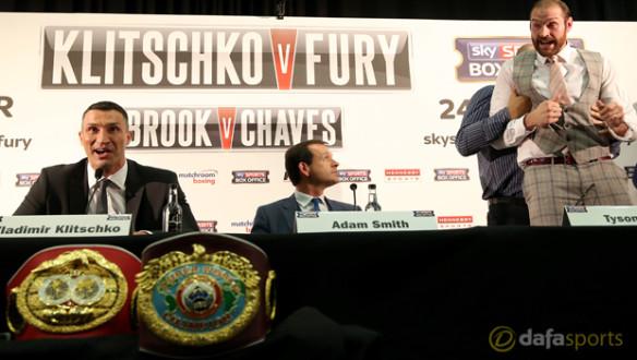 Wladimir Klitschko - Tyson Fury 2- boxing