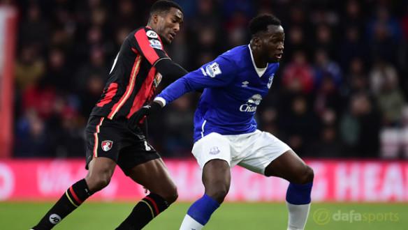 AFC-Bournemouth-Sylvain-Distin-and-Everton-Romelu-Lukaku