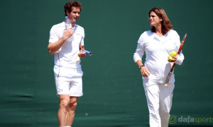 Andy-Murray-and-coach-Amelie-Mauresmo-Tennis