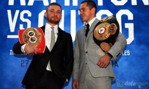 Boxers-Carl-Frampton-v-Scott-Quigg