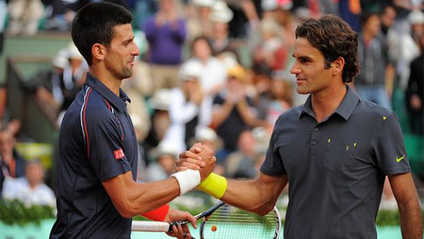 Novak Djokovic  Roger Federer - Dafabet The Thao