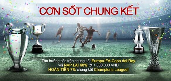 Khuyến mãi cá cược bóng đá - Dafabet - Uefa Champions League 2015-2016