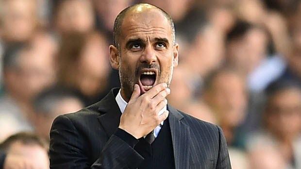 Pep Guardiola-Man-city