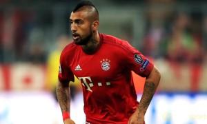 Bayern: Vidal chưa định ngày trở lại