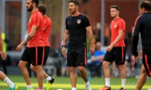 Diego Simeone lạc quan tại cúp Copa Del Rey