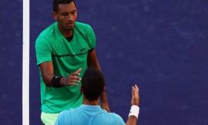 Nick Kyrgios một lần nữa gây choáng váng cho Novak Djokovic