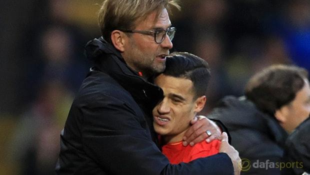 Klopp Coutinho sẽ ở lại Liverpool