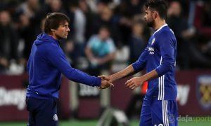 Tiền đạo Diego Costa sẽ bị Chelsea thải loại