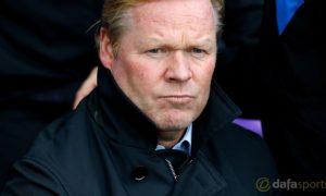 HLV Ronald Koeman của Everton không bối rối dù khởi đầu bết bát