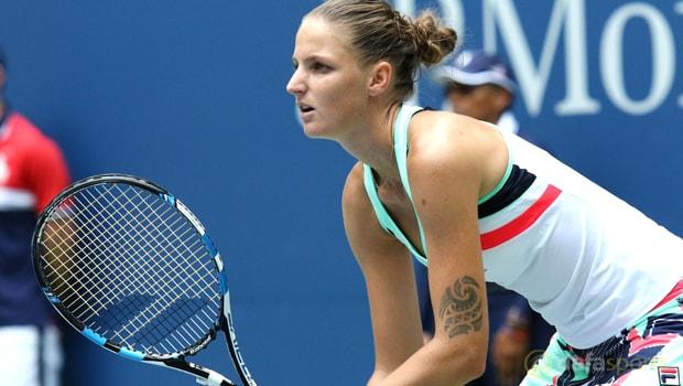 Karolina Pliskova vui mừng vì tiến bộ tại giải Singapore mở rộng