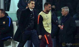Ernesto Valverde phủ nhận việc Barcelona tăng cường lực lượng