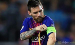 HLV Ernesto Valverde cho rằng Lionel Messi là cầu thủ xuất sắc nhất