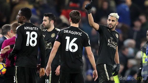 Riyad Mahrez hạnh phúc tại Leicester
