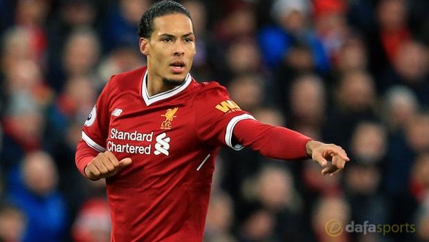 Hậu vệ Virgil van Dijk của Liverpool vui vẻ nhận chỉ trích