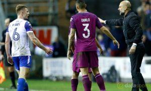 Pep Guardiola vẫn khen ngợi các học trò sau thất bại của Man City