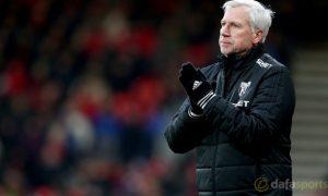 HLV Alan Pardew tụ tin vào cơ hội trụ hạng của West Brom Albion