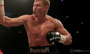 Cá cược boxing: Alexander Povetkin gạ đấu Anthony Joshua tại Nga