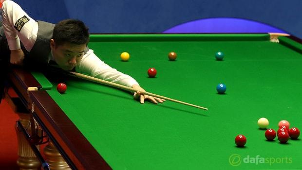 Snooker: Ding Junhui nhẹ nhàng vượt qua Xiao Guodong tại Sheffield