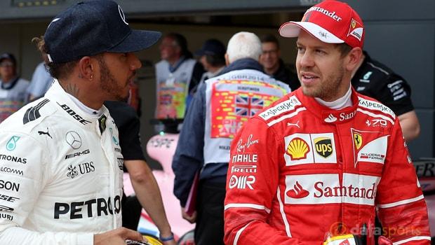 Tỷ lệ cược: Lewis Hamilton tiết lộ sự kính trọng cho Sebastian Vettel