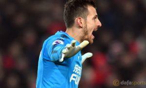 Cá cược bóng đá: Martin Dubravka muốn gắn bó với Newcastle