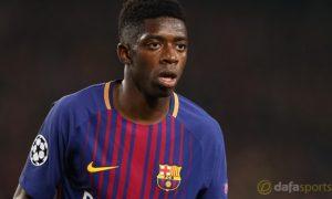 Cá cược Barca: Ousmane Dembele phủ nhận muốn ra đi