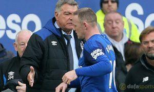 Sam Allardyce: Không vấn đề gì với phản ứng của Wayne Rooney