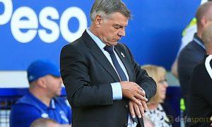 Cá cược ngoại hạng anh: Sam Allardyce của Everton gây thất vọng