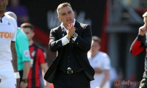 Tỷ lệ cược bóng đá: Carlos Carvalhal tự tin giúp Swansea trụ hạng