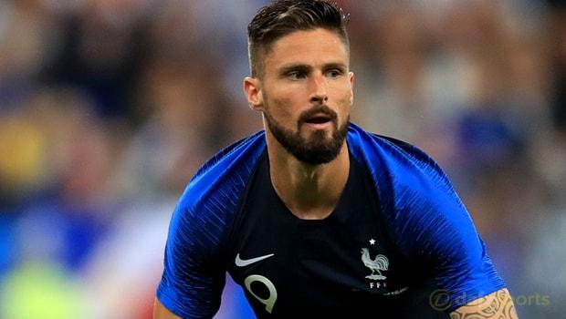 Olivier Giroud sẵn sàng đá chính cho ĐT Pháp tại WC2018