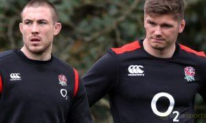 Cá cược Rugby: Mike Brown tin rằng Owen Farrell đủ sức dẫn dắt hàng công