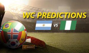 WC 2018 dự đoán kết quả: Argentina vs Nigeria
