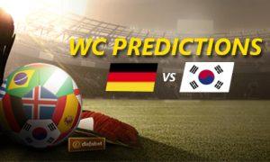WC 2018 dự đoán kết quả: Đức vs Hàn Quốc