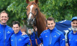 Tỉ lệ đua ngựa: Đội Charlie Appleby bị mất ngựa đua Masar