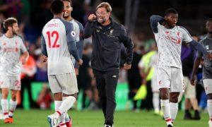 """Liverpool thắng """"xấu xí"""", Klopp vẫn tỏ ra vui mừng"""