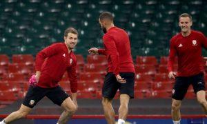 HLV Ryan Giggs của ĐT Xứ Wales đưa tin về tiền vệ Aaron Ramsey