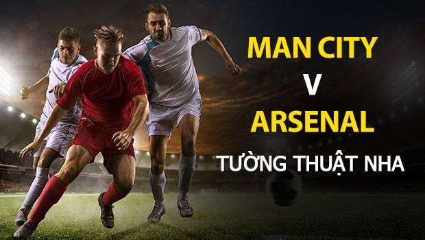 Manchester City vs Arsenal: Dự đoán Ngoại Hạng Anh