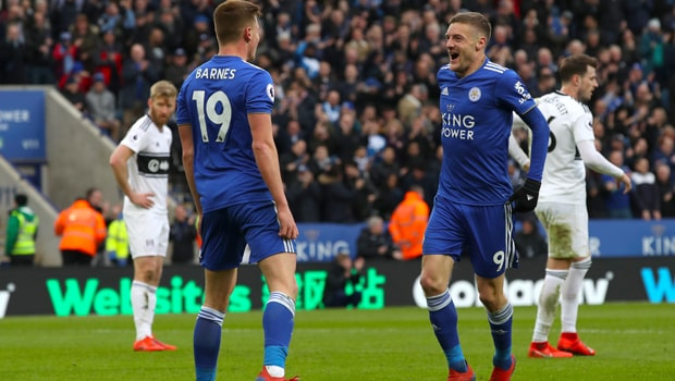 Jamie Vardy quyết tâm giúp Leicester có thứ hạng cao tại Ngoại Hạng Anh