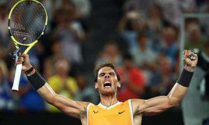 """Nadal """"ăn đứt"""" cả Federer và Djokovic ở ý chí chiến đấu"""