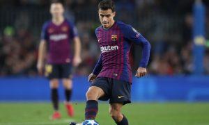 Kèo bóng Barca: Pique động viên đồng đội Coutinho