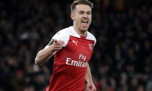 HLV Emery muốn Ramsey giành danh hiệu cuối cùng trong màu áo Arsenal